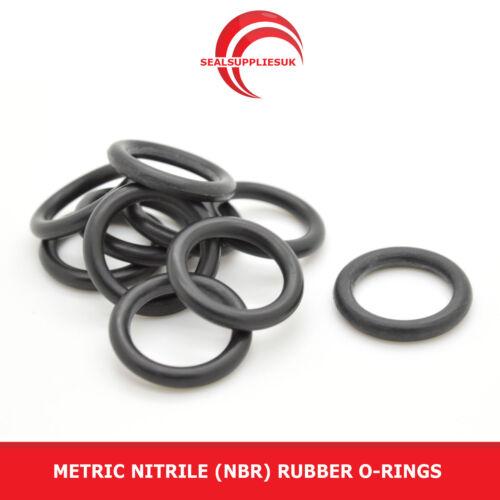 Métrique Caoutchouc Nitrile O Anneaux 3 mm Cross Section 241mm-340mm ID-Fournisseur britannique