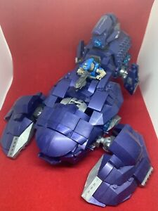 Mega-Bloks-Halo-Construx-Covenant-Wraith-Ambush-Ship-Parts-Pieces-Incomplete