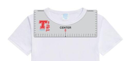 T-mate-T-shirt HTV Vinyle Alignement Ruler outil//Guide-Pour CRICUT Silhouette