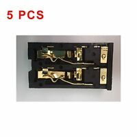 5pcs - Dual Bantam Jacks Gold Plated - Si-bj-0223a-3