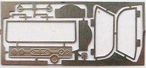 1//43e planche de photodécoupages Cadillac Le Mans grand modèle