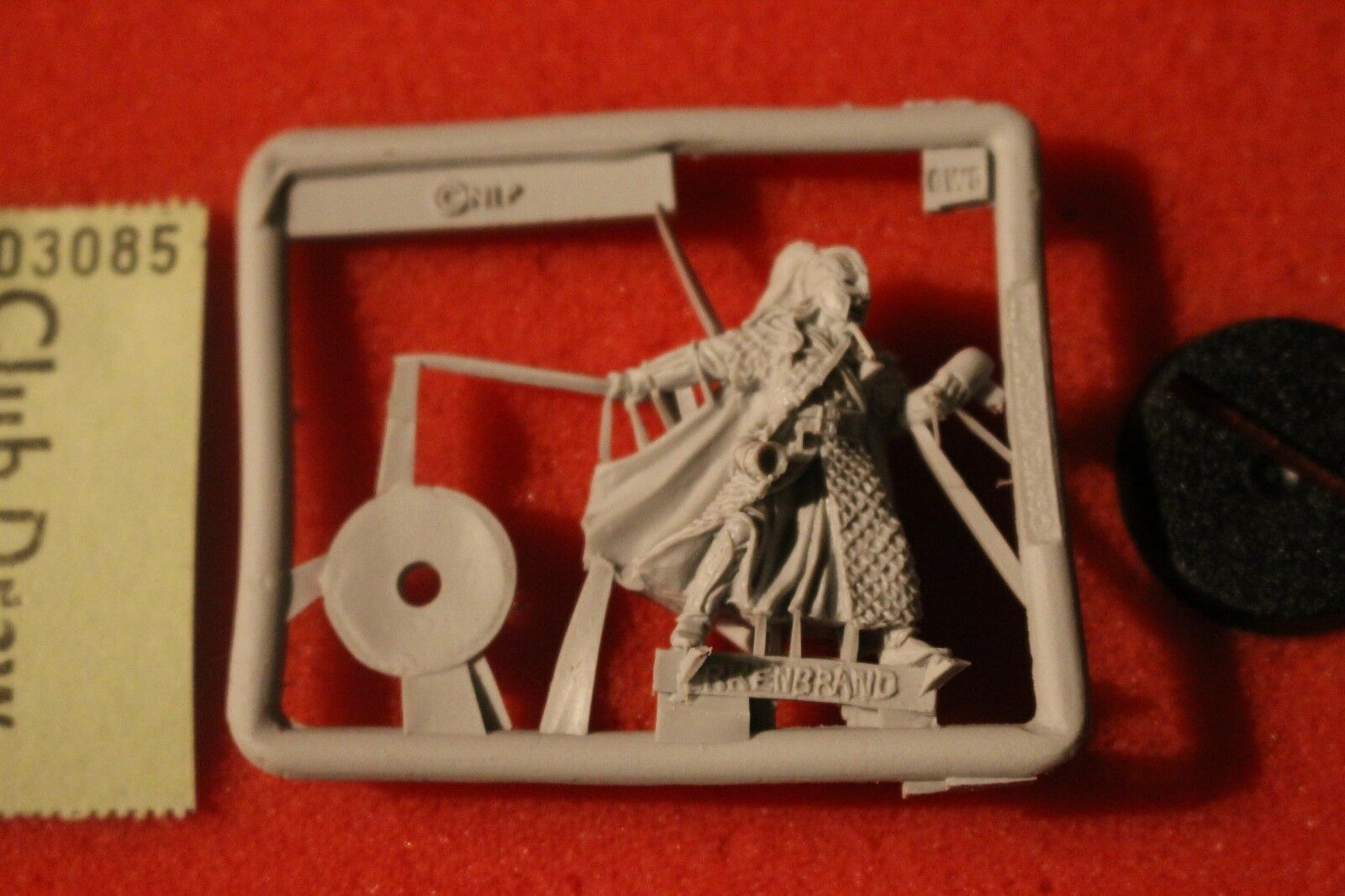 Games Workshop Lord of the Rings Erkenbrand Rohan on Foot Finecast LoTR New