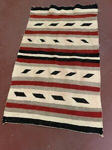 Textile Weaving Navajo Indian Rug