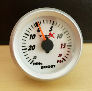 Matrix-Motorsports-Mechanical-Boost-Gauge-52mm-2-Inch-White-Indiglo-EL-Glo-20psi
