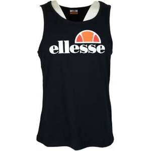 Ellesse-Frattini-Cotton-Black-Vest