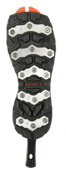 Korkers Omnitrax triple amenaza-Barra de aluminio