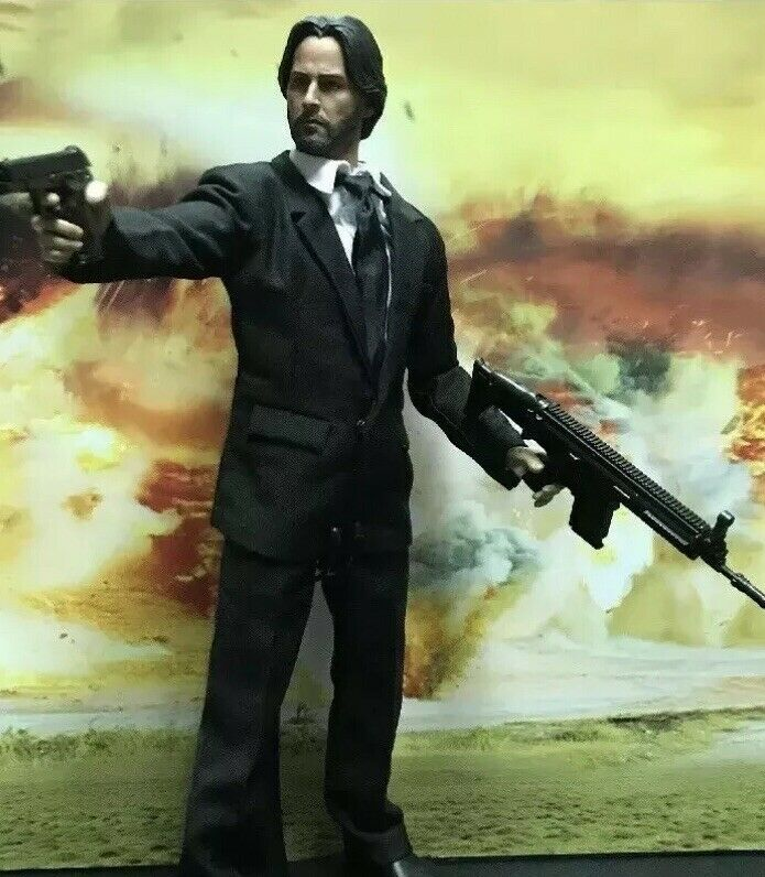 1 6 Scale Keanu Reeves Action Figure
