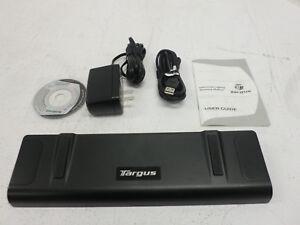 Targus ACP45US Universal Docking Station includes USB-A to USB-B