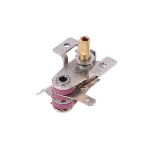 AC 250V Adjustable 90 Celsius Temperature Switch Bimetallic Heating Thermostat