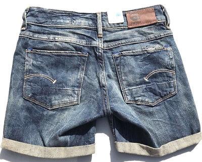 Details about G Star Raw 'HELLER MIDWAIST BELL WMN' Denim Shorts Size 25 NEW RRP $189 Womens