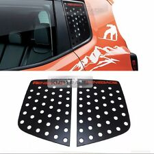 C Pillar Window Glass Sports Plate Molding Red Logo For JEEP 2015-2017 Renegade