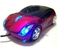 800DPI Optical Cool Red Car Shape USB 2.0 3D Optical Mouse Mice For PC Laptop TQ