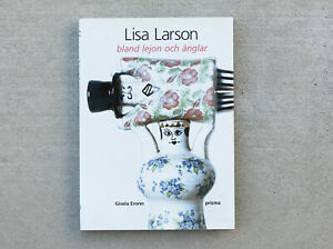 Rare-Lisa-LARSON-Mid-Century-Modern-Pottery-amp-Design-Book-Eames-Era-1950s