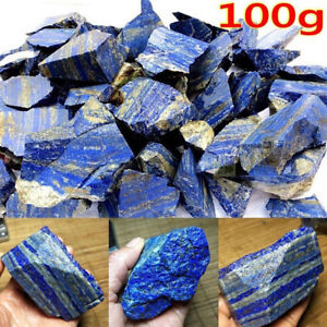 Raw-Gemstone-Afghanistan-Lapis-lazuli-Crystal-Natural-Rough-Mineral-100g-GiftM2Y