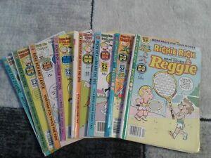 Richie Rich Harvey Comic Book Lot of 8