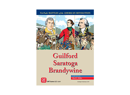 Battles of the American Revolution Tri-Pack  Guilford Saratoga Brandywine - BNIB