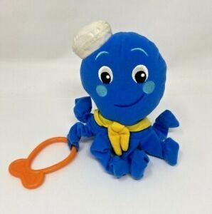 Disney-Baby-Einstein-Blue-Octopus-6-034-Plush-Stuffed-Animal