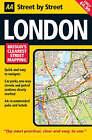 AA Street by Street London Map by AA Publishing (Sheet map, folded, 2007)