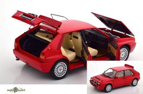 Lancia Delta HF Integrale evoluzione 2 1993 red DIECAST 1:18 Kyosho