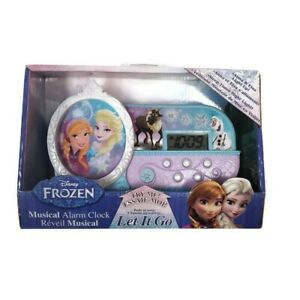 Disney-Frozen-Elsa-Anna-And-Olaf-Night-Music-Alarm-Clock-Let-It-Go-Song-New