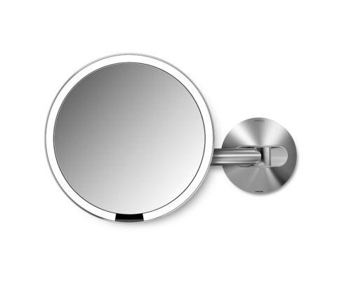 simplehuman Sensorspiegel Kosmetikspiegel Wandspiegel 20cm ST3003 VERDRAHTET