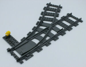 Lego-City-ferroviaire-Douce-gauche-reglable-de-Set-60198-60098-NEUF