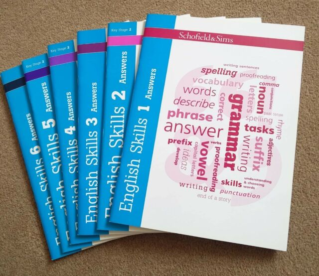 English Skills Answers Books 1-6 by Carol Matchett (Paperback, 2011)