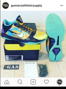 beb563074a3 ... norway image is loading nike zoom kobe v 5 prelude finals mvp 9db79  ebab9