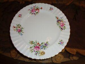 Royal-Worcester-Dinner-Plate-ROANOKE-Circa-1940-039-s-Pattern-Z2827