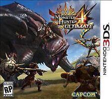 NEW  Monster Hunter 4 Ultimate Nintendo 3DS Game Sealed Unopened Nintendo