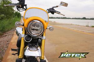 Details About Honda Monkey 125 Headlight Mask Long Yellow Color