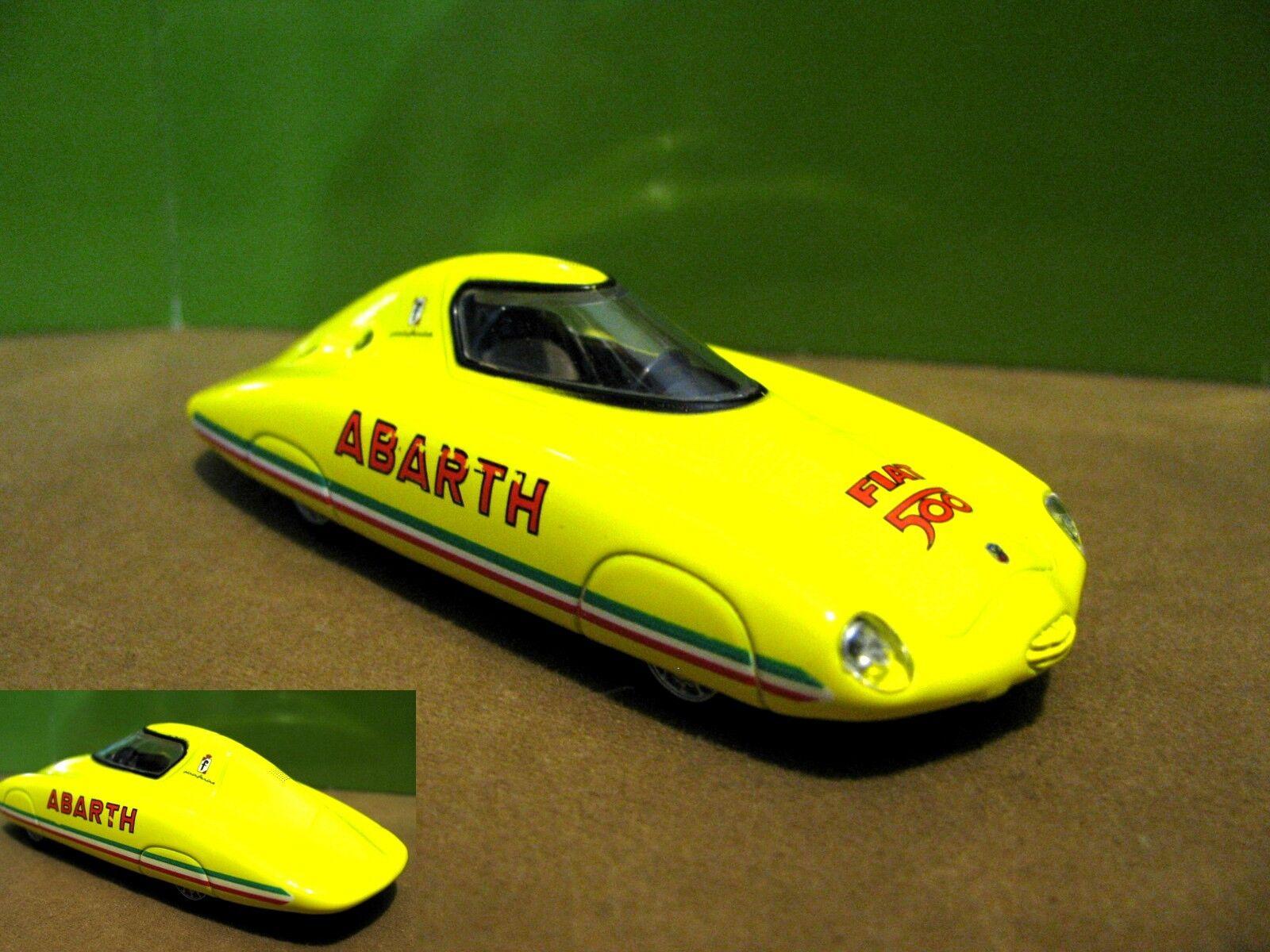 1 43 Fiat Abarth 500 500 500 Record (1958) diecast 54697a
