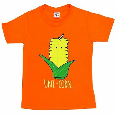 1Tee Kids Boys Uni-Corn Cobb T-Shirt