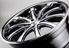 22 inch Wheels OCTANE OC14 DEEP DISH Wheels Audi Q7, Holden, Jeep SRT,