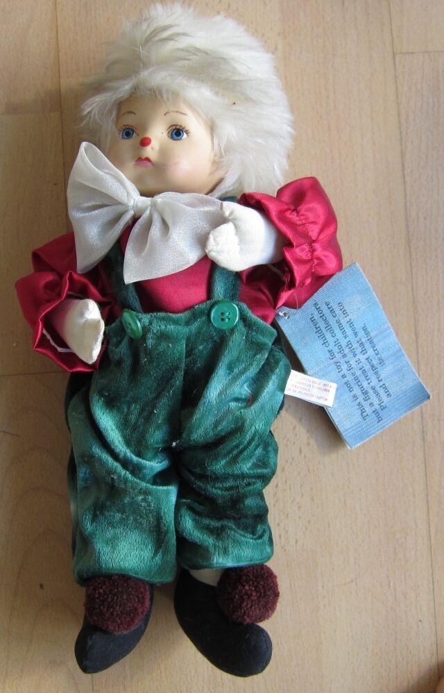 Beautiful Porcelain Doll Doll Boy Collector Rare Porcelain Head 32 High