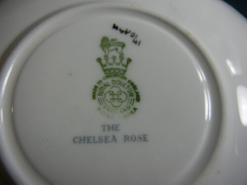 Royal Doulton The Chelsea Rose Cup and Saucer Set s
