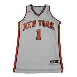 1b4d742ce995 ... Jersey Image is loading New-NBA-New-York-Knicks-Amare-Stoudemire Adidas  NBA New York Knicks 1 Amare Stoudemire New Revolution 30 Swingman Home White  ...
