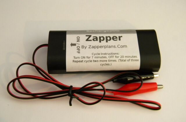 Rechargeable Hulda Clark Zapper - No Batteries Needed! (Limited No. Available)