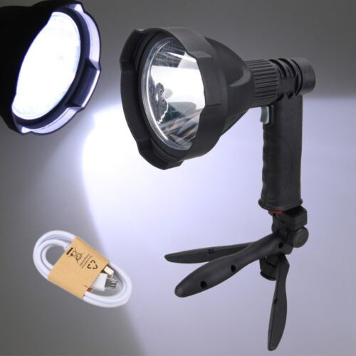 Rechargeable 8000LM XM-T6 LED 110mm lens Gun Light Tactical Flashlight Hunt Lamp