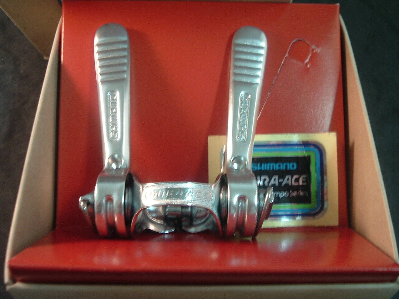 Shimano Dura Ace 1st Gen NEW    NOS Down Tube Road Shifters Vintage-5 6 7-Spd-NIB  various sizes