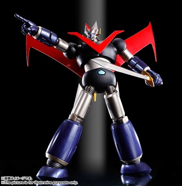 BANDAI SUPER ROBOT CHOGOKIN GREAT MAZINGER KUROGANE FINISH LARGE MAZINGA NEW