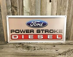 Ford Power Metal Tin Sign