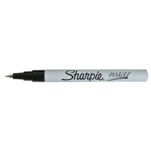 White Sharpie Extra-Fine Point Oil-Based Paint Markers Extra-Fine Point,