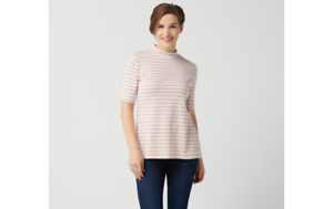 Isaac-Mizrahi-Live-Essentials-Pima-Cotton-Striped-Mock-Neck-Top-Seashell-L-A350