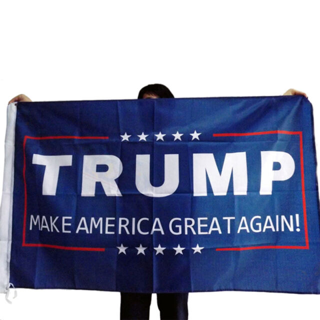 Wholesale Donald J. Trump 3x5 Foot Flag Make America Great Again for PresidentG$