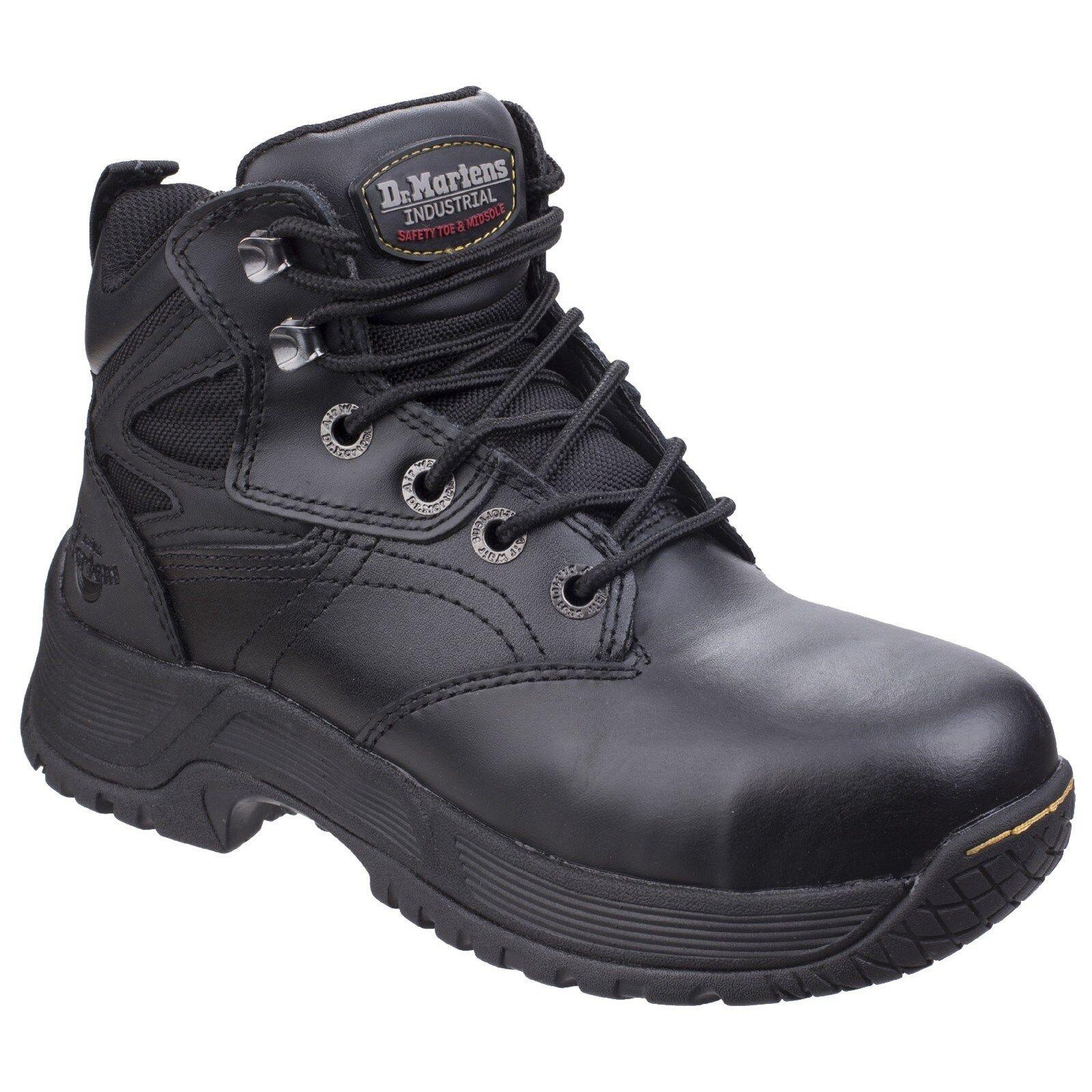Hombre Dr Martens Torness st Negro Senderista botas de Seguridad Gb Tallas 3 -13