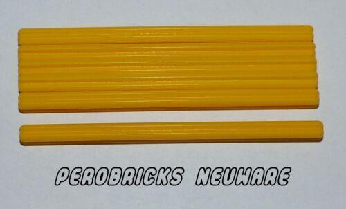 Lego Technic Technik 5 Kreuzstangen 9lang gelb #60485 NEU