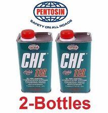 2-Pentosin CHF11S Power Steering Fluid & Convertible Top Hydraulic Pump Fluid