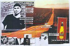"Molson Beer ""Brad Whitehead"" 1999 Magazine Double Page Advert #4944"