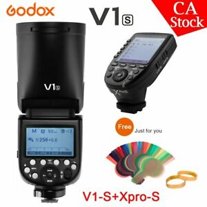 US-Godox-V1-S-2-4G-TTL-HSS-Camera-Flash-Speedlite-Xpro-S-Transmitter-For-Sony